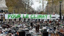 Manifestación de hoy en París